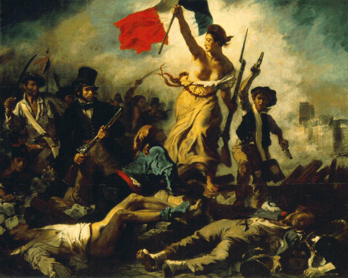 (La Liberté guidant le peuple)