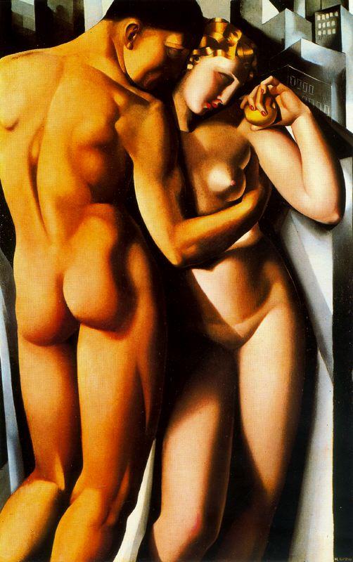 Adam et Ève 1932 Tamara de Lempicka