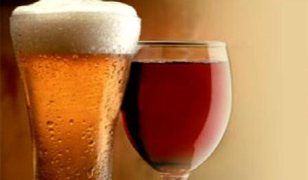 El vino desplaza de a poco a la cerveza