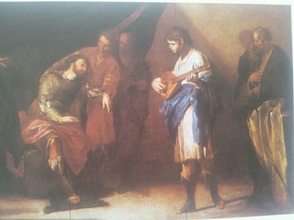 Resultado de imagen de el rey david y la pintura