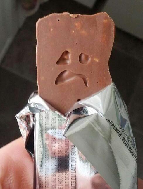 chocolatina macabra