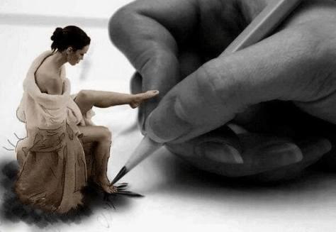 pintar a una mujer