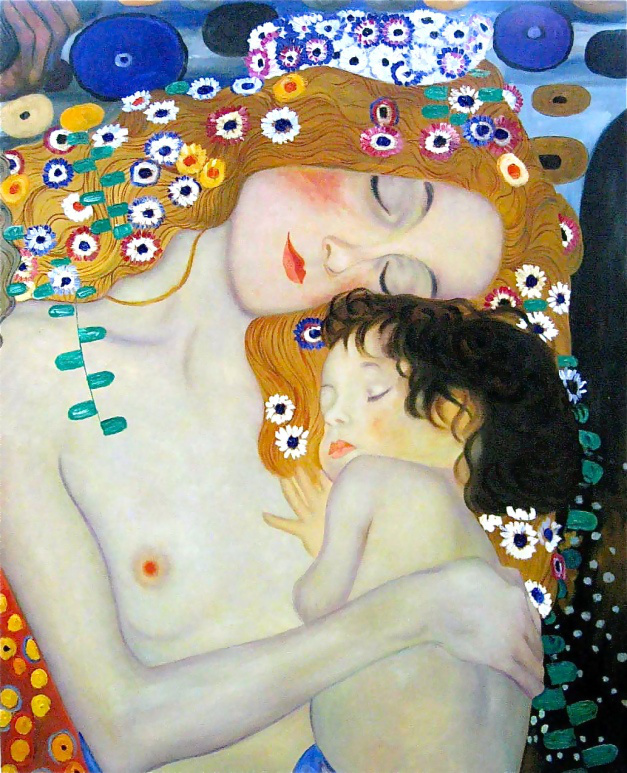 klimt__mother_and_child1