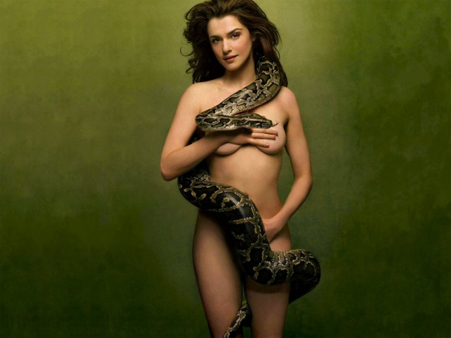 Resultado de imagen de rachel weisz serpiente