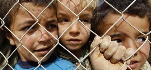 Resultado de imagen de refugiados niños