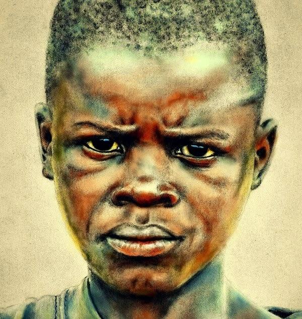 Resultado de imagen de NIÑO AFRICANO