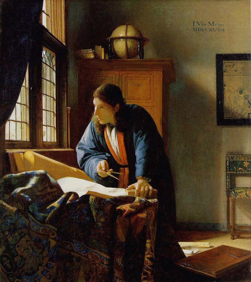 Resultado de imagen de vermeer ventana